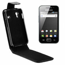 COVER CUSTODIA FLIP CASE PER SAMSUNG GALAXY ACE GT S5830 S5830i TURBO ECO PELLE