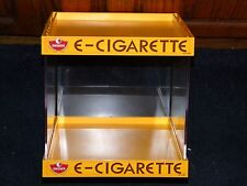 SWISHER E-CIGARETTE CIGARETTE CIGAR TOBACCO STORE DISPLAY CASE BOX SEE THRU BOX
