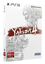Yakuza 4 Shiro Edition PS3 PAL AUS *BRAND NEW!*