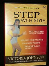 DVD Step with Style Diamond Collection Workout Exercise Fitness Victoria Johnson