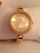 Caravelle by Bulova Ladies Tortoise Shell Gold Tone Quartz Watch 44L138-H4
