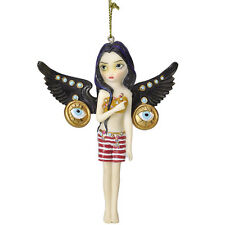 JASMINE BECKET GRIFFITH Fairy Ornament MECHANICAL ANGE Fairie GOLD EYES Figure