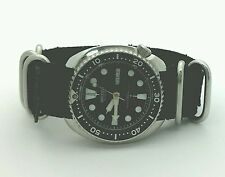 Vintage Seiko Diver 6309-7049 Turtle Dive Watch 17 Jewels Nato Band 1977 Offer!!