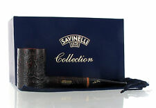Pipe Savinelli Collection Pipe of The Year POY 2017 Sandblasted Poker Handmade A