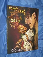 SANDMAN / SDCC COMIC CON Signed Art Program Booklet by Dave McKean ~Neil Gaiman