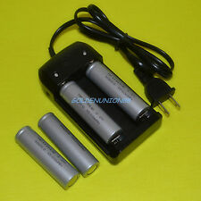 4X LiFePO4 IFR18650 3.2V 1500mAh High Temp. Emergency battery  +1X smart charger