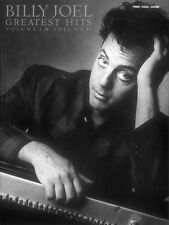 Billy Joel Greatest Hits Volume 1 and 2 Sheet Music Piano Vocal Guitar 000356299