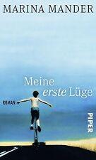 Mander, Marina - Meine erste Lüge: Roman