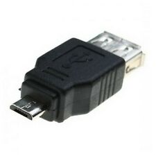 MINI ADAPTADOR CONVERSOR USB HEMBRA A CONECTOR MICROUSB MACHO OTG ON-THE-GO