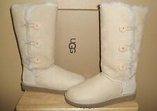 UGG Australia Bailey Button Triplet II Womens Tall Sheepskin Boots US 11 /EU 42