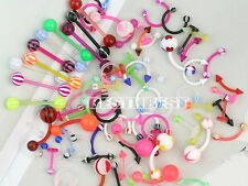 LOT DE 80 PIERCING MIX NOMBRIL LANGUE ARCADE LABRET NEUF REVENDEUR BIJOUX