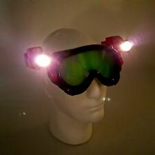 Power Rangers Wild Force Flashlight Night Head Light Goggles Battle Mask WORKS!