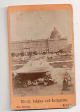 Vintage CDV The Berlin City Palace Imperial Palace Berlin Germany