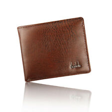 2017 Mens Luxury Leather Trifold Wallet Credit ID Card Coin Holder Wallet Purse