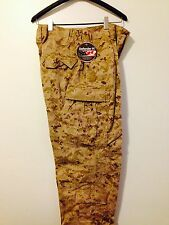 "NWT USMC FROG PANTS DESERT DIGITAL DEFENDER ""M"" MEDIUM REGULAR"