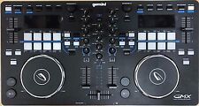 Gemini GMX Media Controller Virtual DJ Dual Pad 2-Channels Mixer USB MIDI PC MAC
