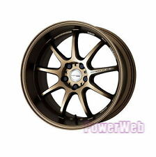 NEW 1X WORK EMOTION D9R 18x10.5 5-114.3 +30 +23 +15 AHG JDM WHEELS 18
