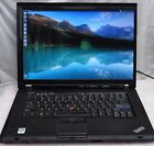 "IBM Lenovo Thinkpad T500 15.4"" Intel Core 2 Duo T9400 2.53GHz 4G RAM 160GB"