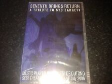 Seventh Brings Return -  Tribute to Syd Barrett PINK FLOYD NEW AND SEALED DVD