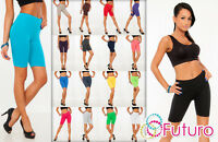Cotton Leggings 1/2 Length Over-Knee Shorts Active Sport Dance Cycling LK