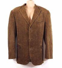 Brown Corduroy WATSON'S Fitted Tailored Men's Blazer Jacket Size XL ( 54 )