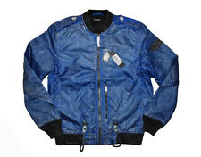 DIESEL J-ZEALAND BLUE JACKET SIZE M 100% AUTHENTIC