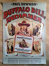 Robert Altman BUFFALO BILL AND THE INDIANS 1976  German 1-sheet PAUL NEWMAN