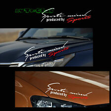 1PC JDM Sports Mind Auto Car Window Headlight Eyebrow Body Vinyl Decal Sticker