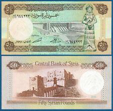 SYRIEN / SYRIA 50 Pounds 1991  UNC  P.103 e