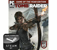 TOMB RAIDER GIOCO dell' Anno Di Edizione GOTY PC, Mac e Linux STEAM KEY