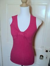 laura ashley pink  stretch top S  RRp $49.95  SALE !!!