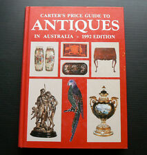 1992 CARTER'S Price Guide to Antiques in Australia vintage pottery jewellery toy
