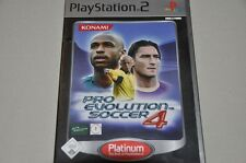 Playstation 2 Spiel - Pro Evolution Soccer 4 - Fussball - komplett Deutsch PS2