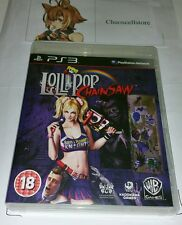 LOLLIPOP MOTOSEGA LOLLY POP PS3 UK PAL Gioco Sony Playstation 3 RARO