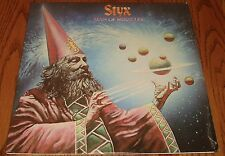 STYX MAN OF MIRACLES ORIGINAL FIRST PRESSING LP WOODEN NICKEL STILL IN SHRINK
