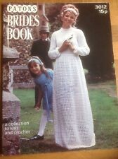 Vintage Patons Brides Book 3012 - Knitting Collection - Wedding Dress Pattern