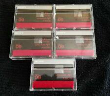 5 Sony mini dv tapes MiniDV Camcorder Tapes