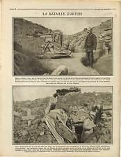 Neuville-Saint-Vaast Pas-de-Calais Bataille d'Artois Poilus Obusier War 1915 WWI