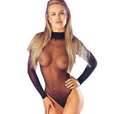 Classified Black 15 Denier Starker Body Stocking