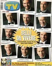 rivista TV SORRISI E CANZONI ANNO 2000 NUMERO 18/19 I BELLI DI VIVERE