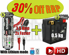 Lithium Deal - Battery + 3.5Amp charger - KTM SX-F 250 ie4T 2016