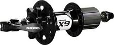NEW SRAM X9 6-Bolt Disc Rear 28H Black with QR Skewer