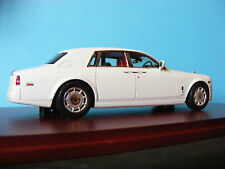 Rolls-Royce Phantom 2009 en inglés Blanca True Scale Models Escala 1:43 RD.
