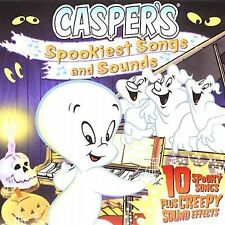 Spookiest Songs and Sounds by Casper The Ghost CD Halloween Sound Effects Creepy