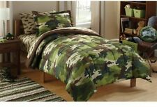 Kids' Camoflauge Coordinated Bed in a Bag Boys Camo Bedding Set Twin NEW