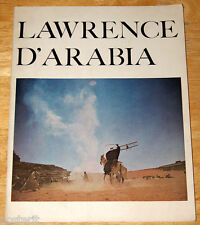 souvenir book film LAWRENCE OF ARABIA Peter O'Toole David Lean 1963 24 pagine