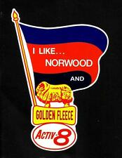 NORWOOD & GOLDEN FLEECE Vinyl Decal Sticker PETROL afl vfl THE REDLEGS SANFL
