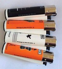 CLIPPER New Birdcage  4pcs Brand Full Size Many Refillable Original Lighters