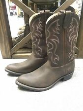 """NEW Men's Double H 12"""" Domestic AG7™ Work Western 3282 Size 15D"""