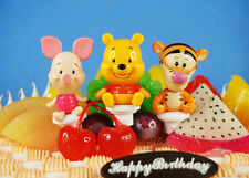 Disney Winnie the Pooh Pink Pig Piglet Tigger Toy Cake Topper Decoration K1231
